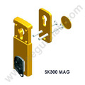 ESCUDO PROTECTOR MAGNETICO DISEC MOD. MG300BC-3W PLATA