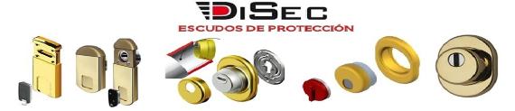 Escudos protectores para cerraduras Disec