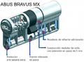 ABUS BRAVUS MX ANTIBUMPING